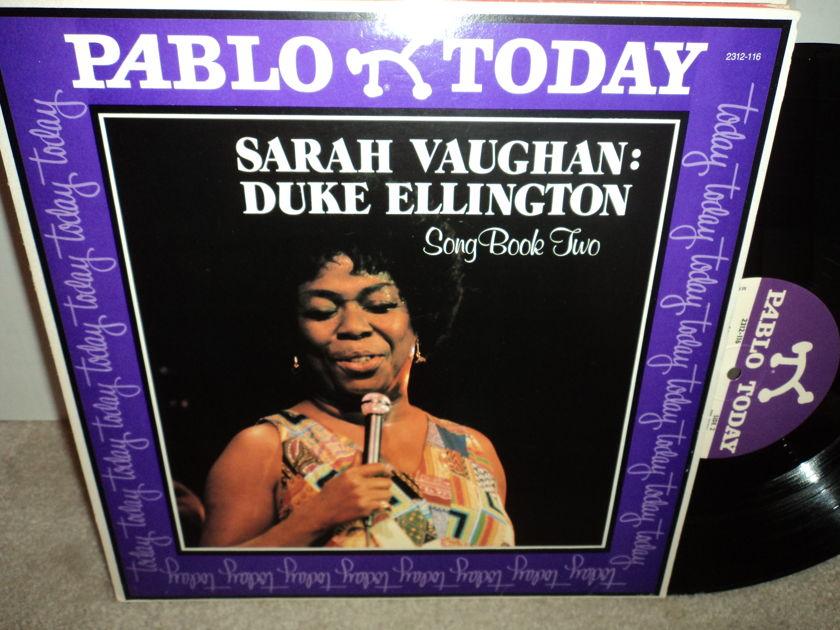 Sarah Vaughan & Duke Ellington - Song Book Two Pablo NM