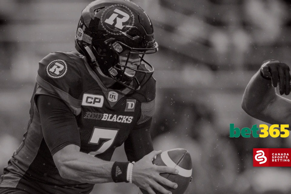 Best Bets on the CFL from Bet365