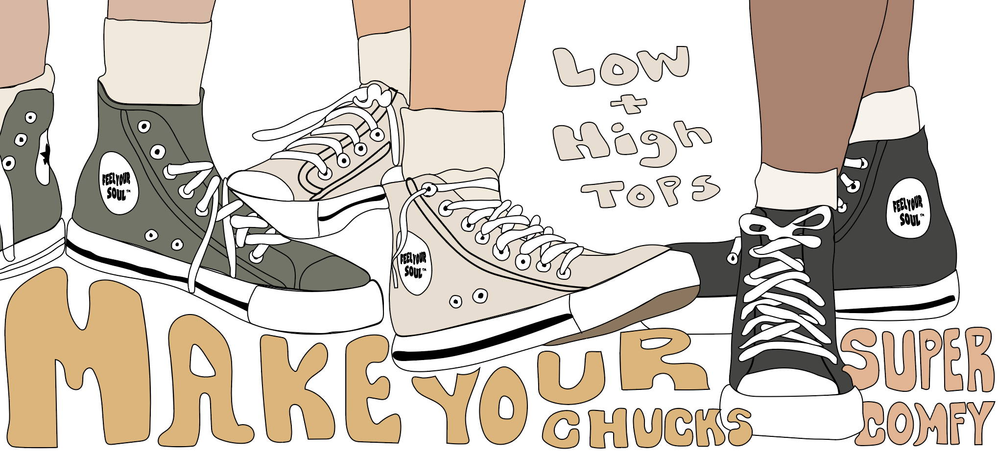 Footsouls For Your Chucks