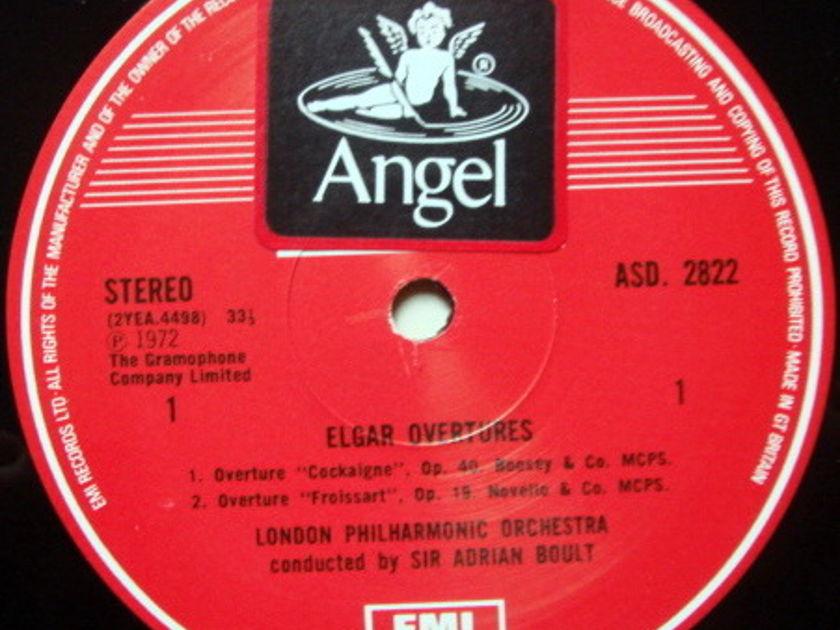 EMI ASD STAMP-DOG / BOULT, - Elgar Overtures, NM!