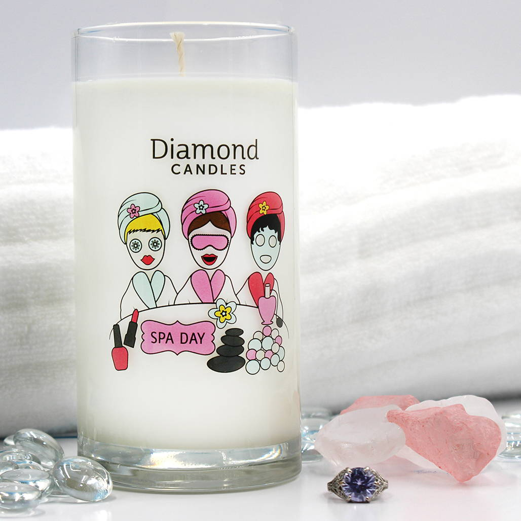 Diamond Candles Spa Day Ring Candle Diamond Candle