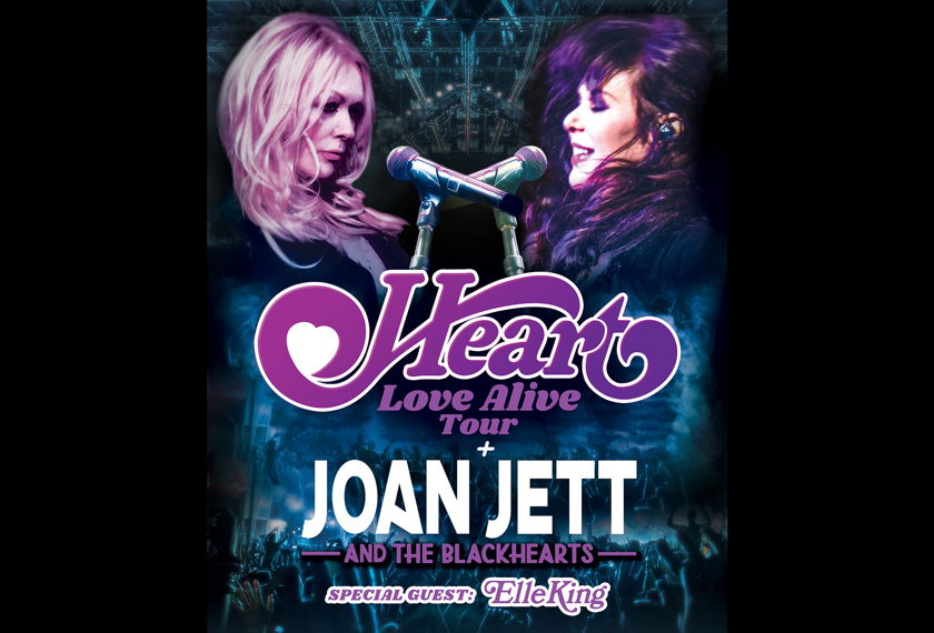 Heart: Love Alive Tour artwork