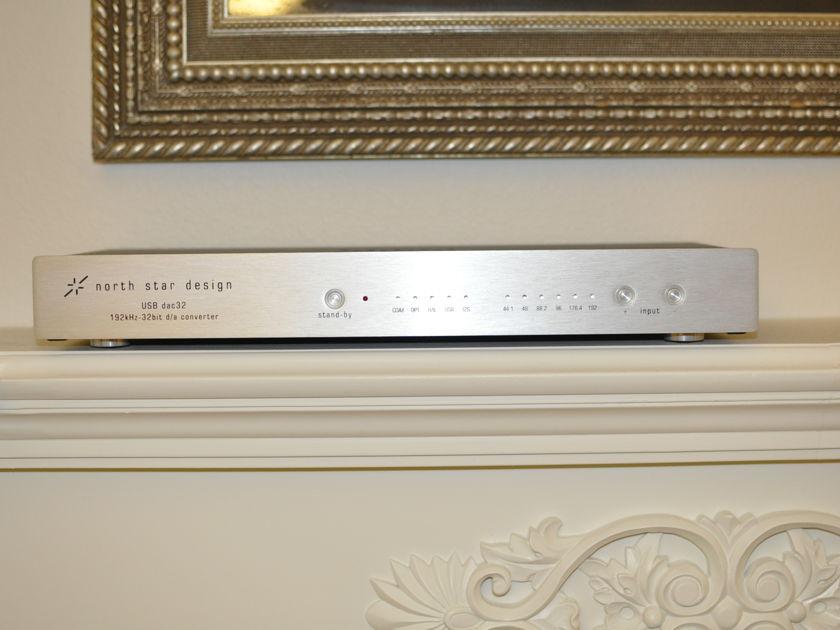 North Star Design USB DAC 32 in silver excellent condition