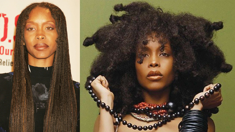 Erykah Badu best natural hair