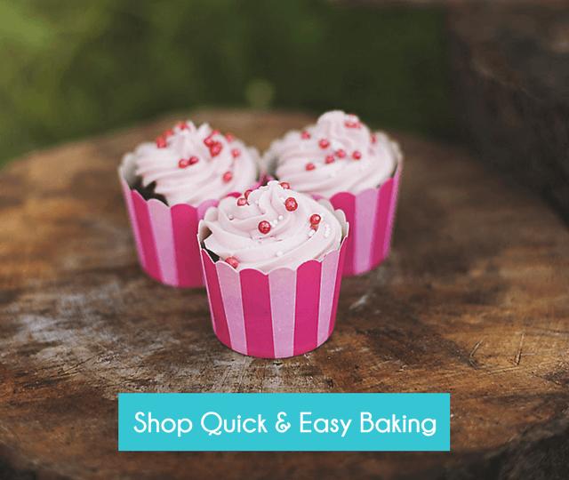 Quick & Easy Gluten Free Baking  - Happy Tummies