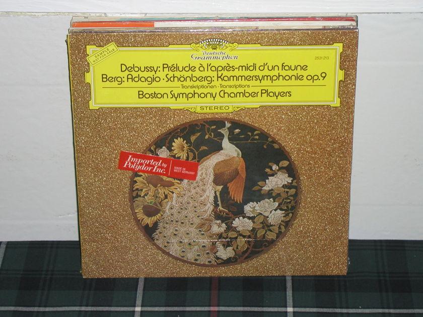 Boston Symphony Chamber - Debussy/Berg DG/German import