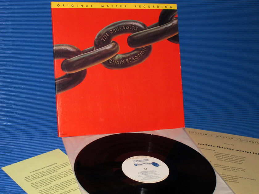 "THE CRUSADERS  - ""Chain Reaction"" -  MFSL Mobile Fidelity 1979"