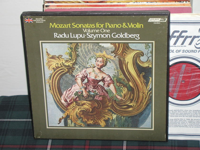Lupu/Goldberg - Mozart Sonatas for Piano London CSA 2243 2LP boxset