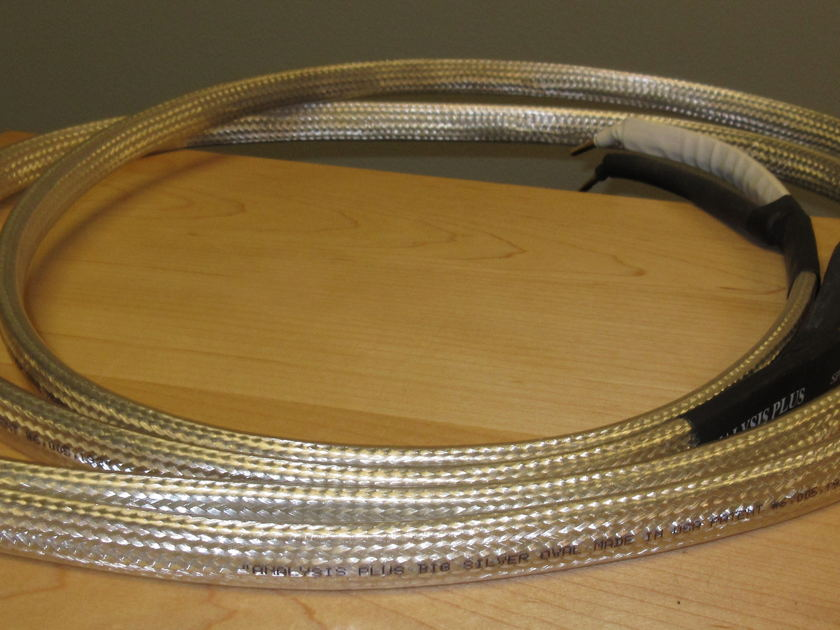 Analysis Plus Inc. Big Silver Oval  Speaker Cable 6'