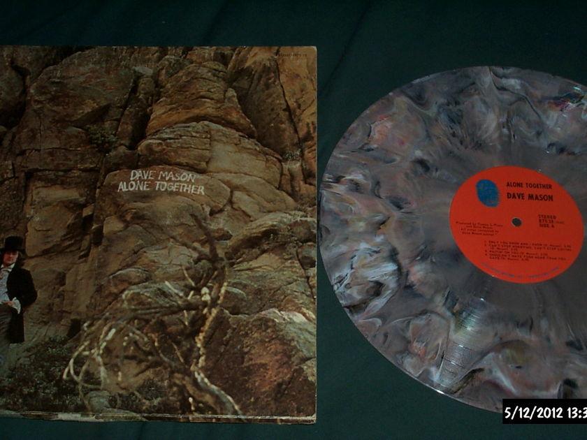 Dave Mason - Alone Together Multi-Colored Splash Vinyl NM