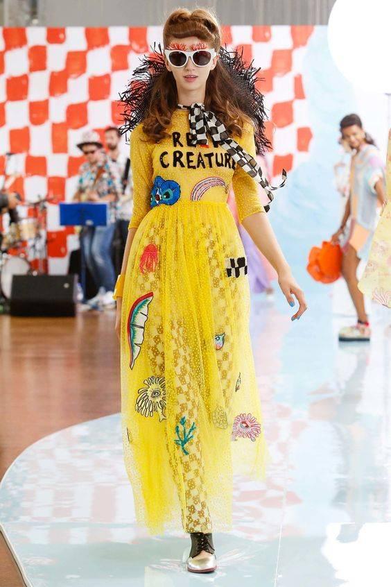 Tsumori Chisato Spring 2018 Ready-to-Wear