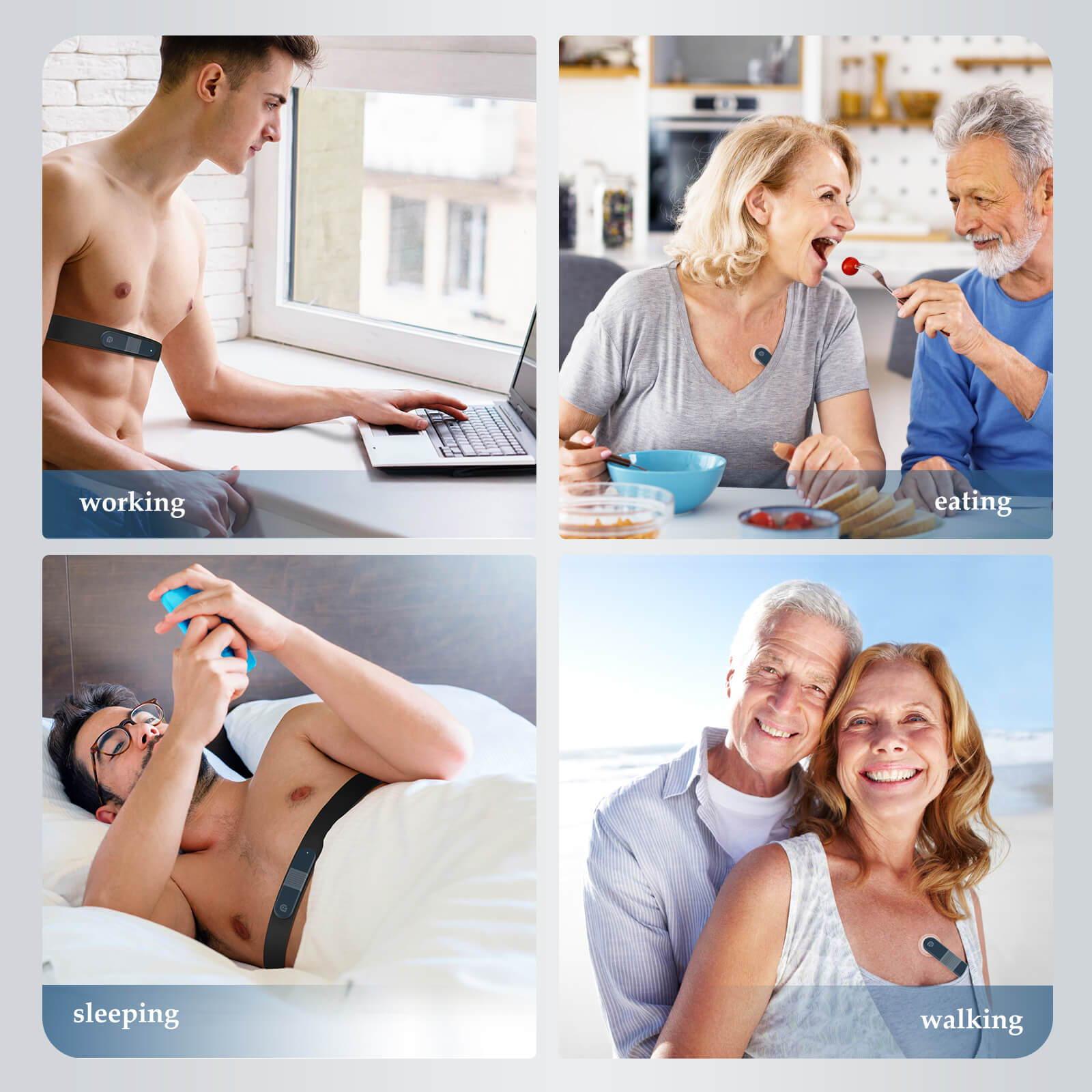 在宅ホルターモニター、家庭用心電図マシン、ポータブル心電図装置、家庭用ホルターモニター、心電図心臓モニター