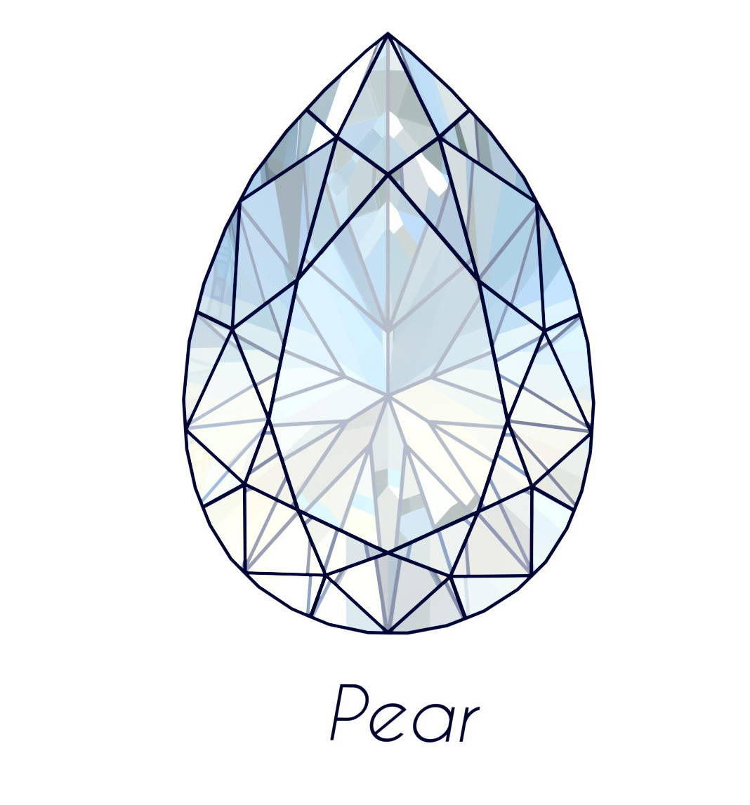diamond pear cut picture