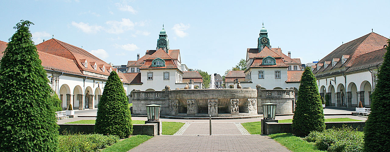 Bad Nauheim - Sprudelhof Bad Nauheim