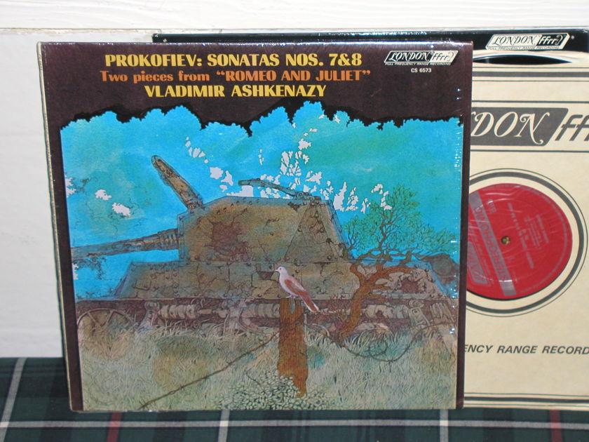 Vladimir Ashkenazy - Prokofiev Son. 7&8 London UK/Decca LP cs6673