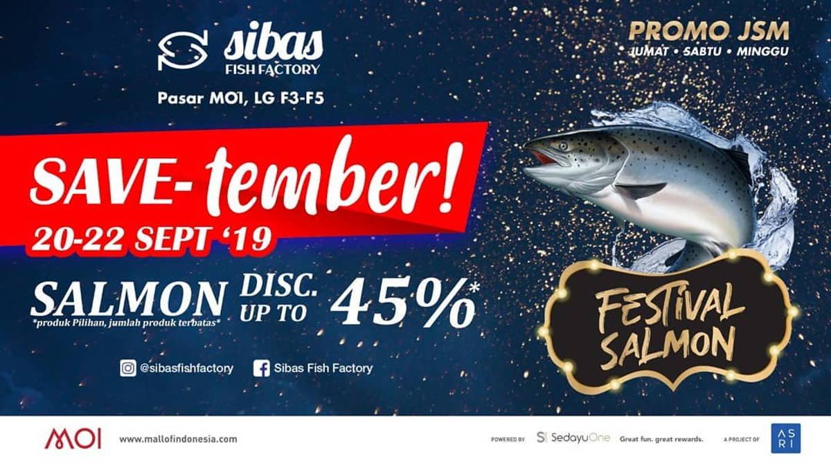 Katalog Promo: Sibas Fish Factory: Promo FESTIVAL SALMON – DISKON hingga 45% OFF - 1