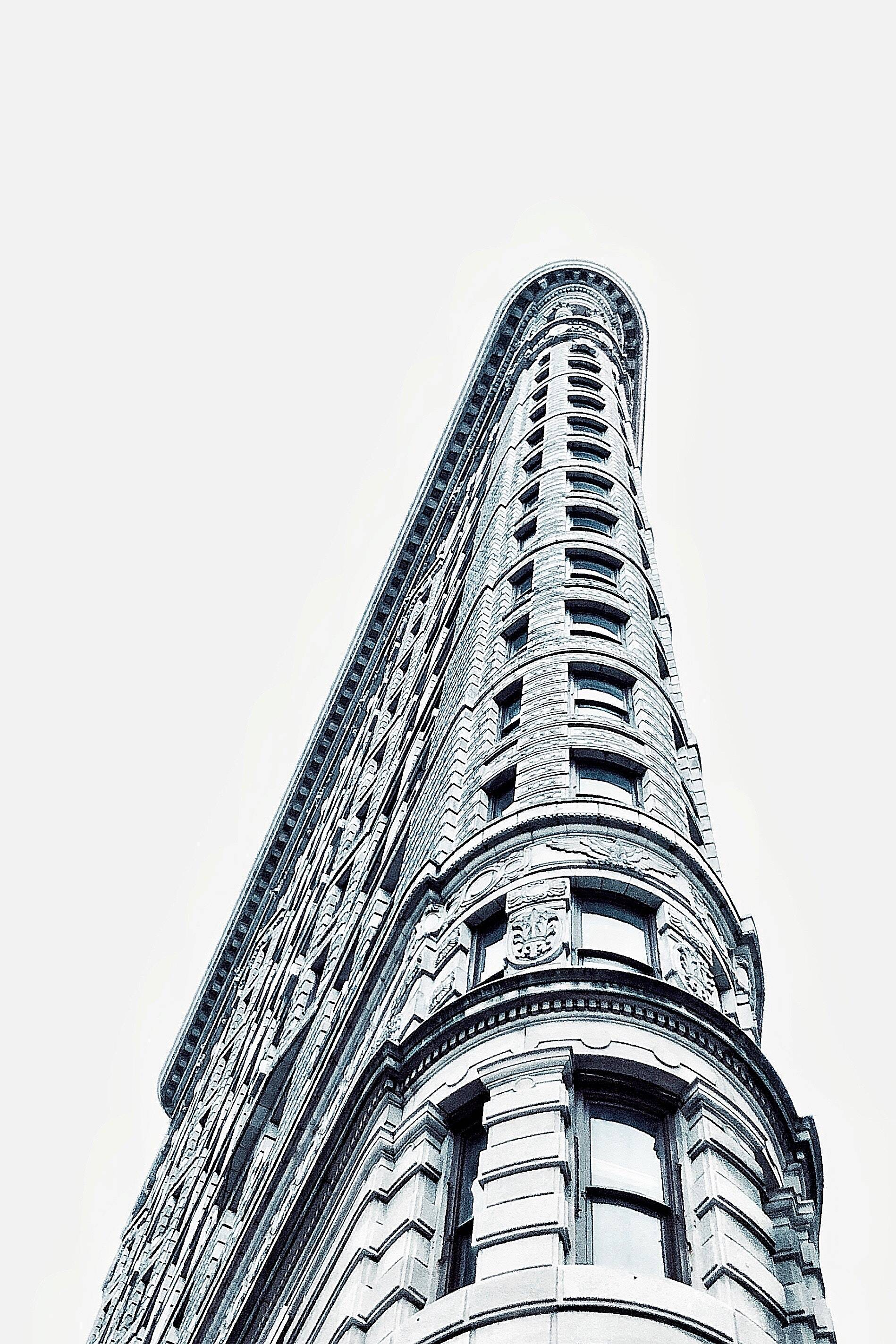 New York City's Flat Iron Building. Image