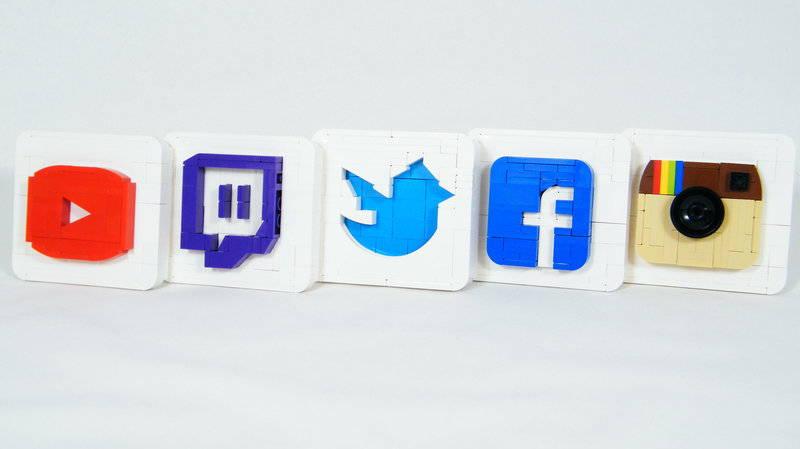 lego on social media