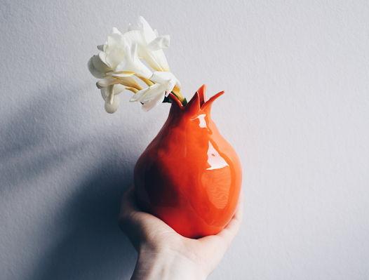 Оранжевый керамический гранат GUNGA