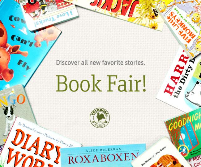 Scholastic Bookfair poster