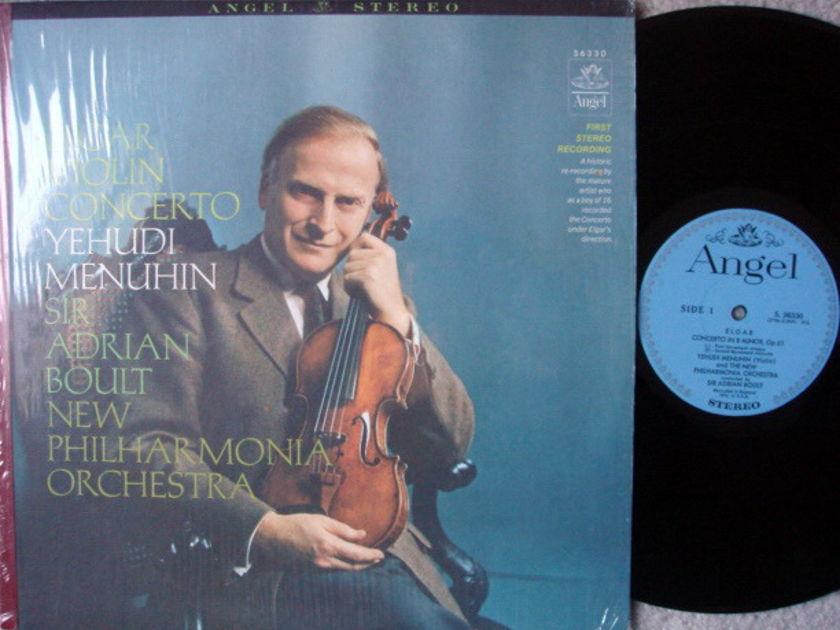 EMI Angel Blue / MENUHIN-BOULT, - Elgar Violin Concerto, MINT!