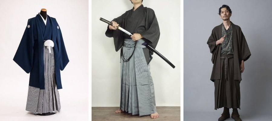 Mens Hakama Kimono Outfit