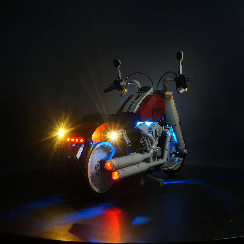 LEGO Harley Davidson Fat Boy 10269 light kit