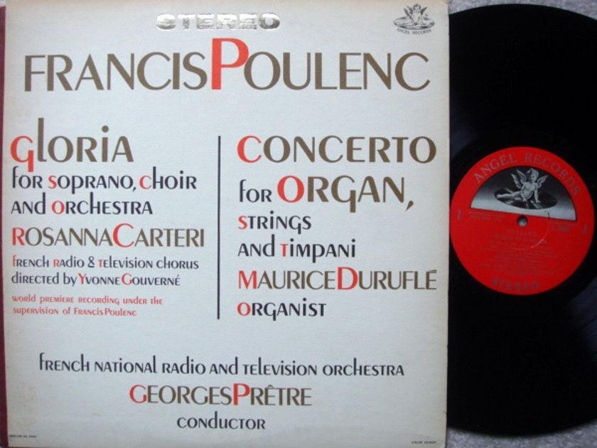 EMI Angel Semi-Circle / PRETRE, - Poulenc Gloria, Concerto for Organ,  NM!