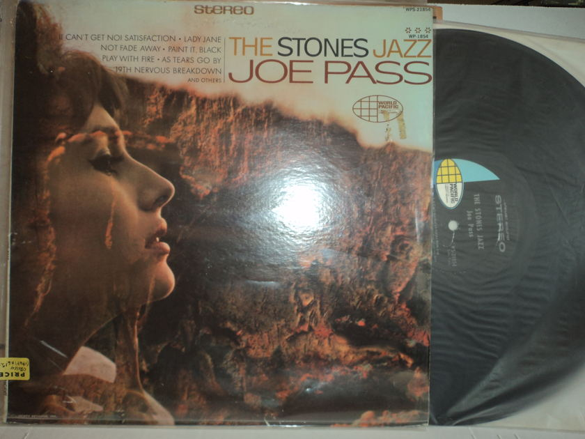 """Joe Pass  - The Stones Jazz """"Music of the Rolling Stones""""  1967 World Pacific Records"""