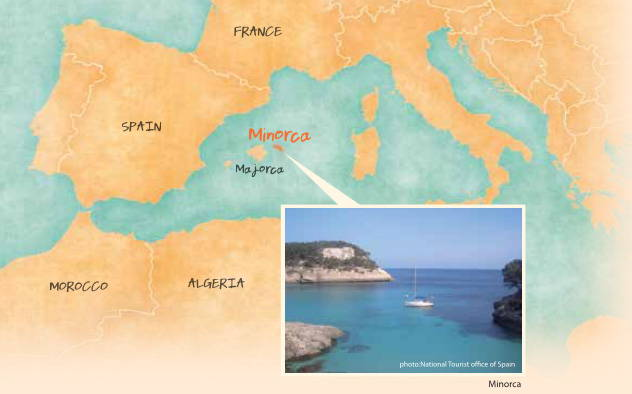 Minorca, birth place of mayonnaise