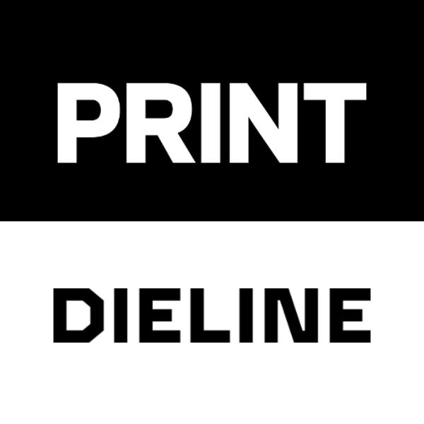 Dieline Media & PRINT Magazine logo