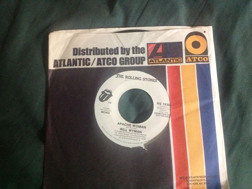Bill Wyman - Apache Woman Promo Mono/Stereo 45 NM