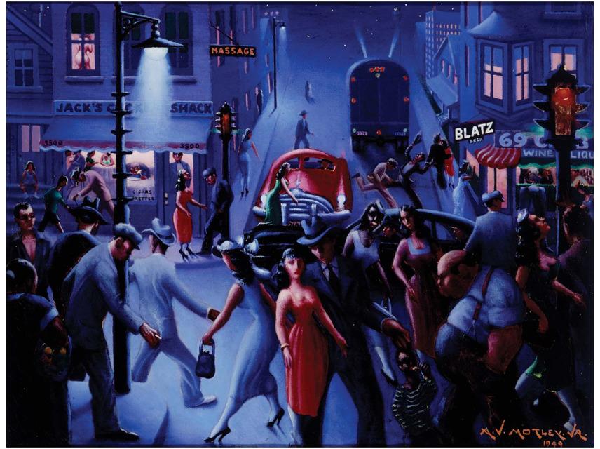 """""""Bronzeville at Night"""""""