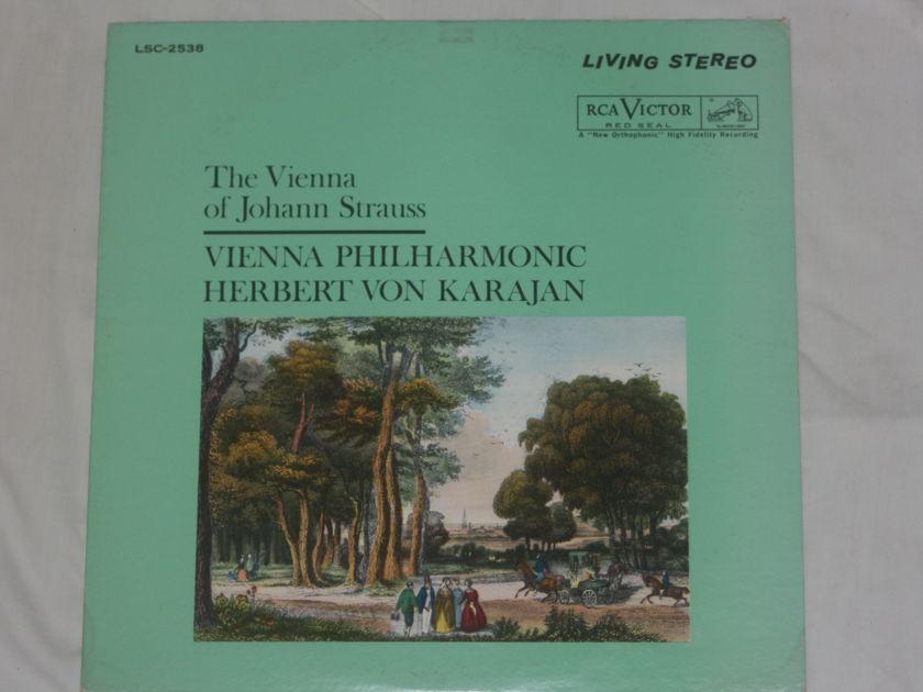 Herbert Von Karajan - The Vienna of Johann Strauss RCA Victor LSC-2538