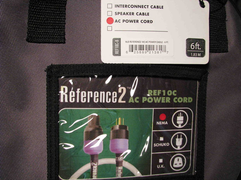 XLO Electric Reference2 Type 10A AS NEW 1.8m AC Power Cable