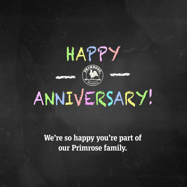 Staff Anniversaries: May