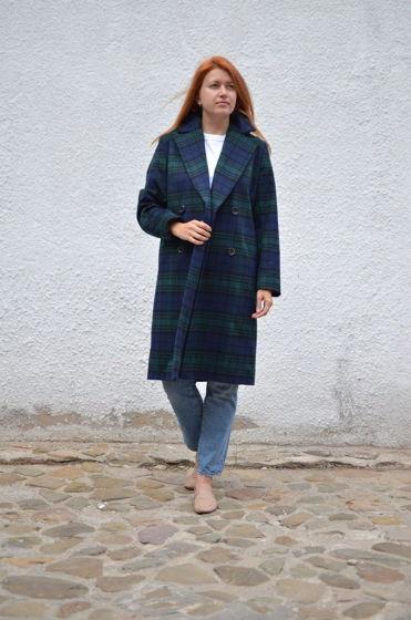 Шерстяное пальто Nottingham oversize