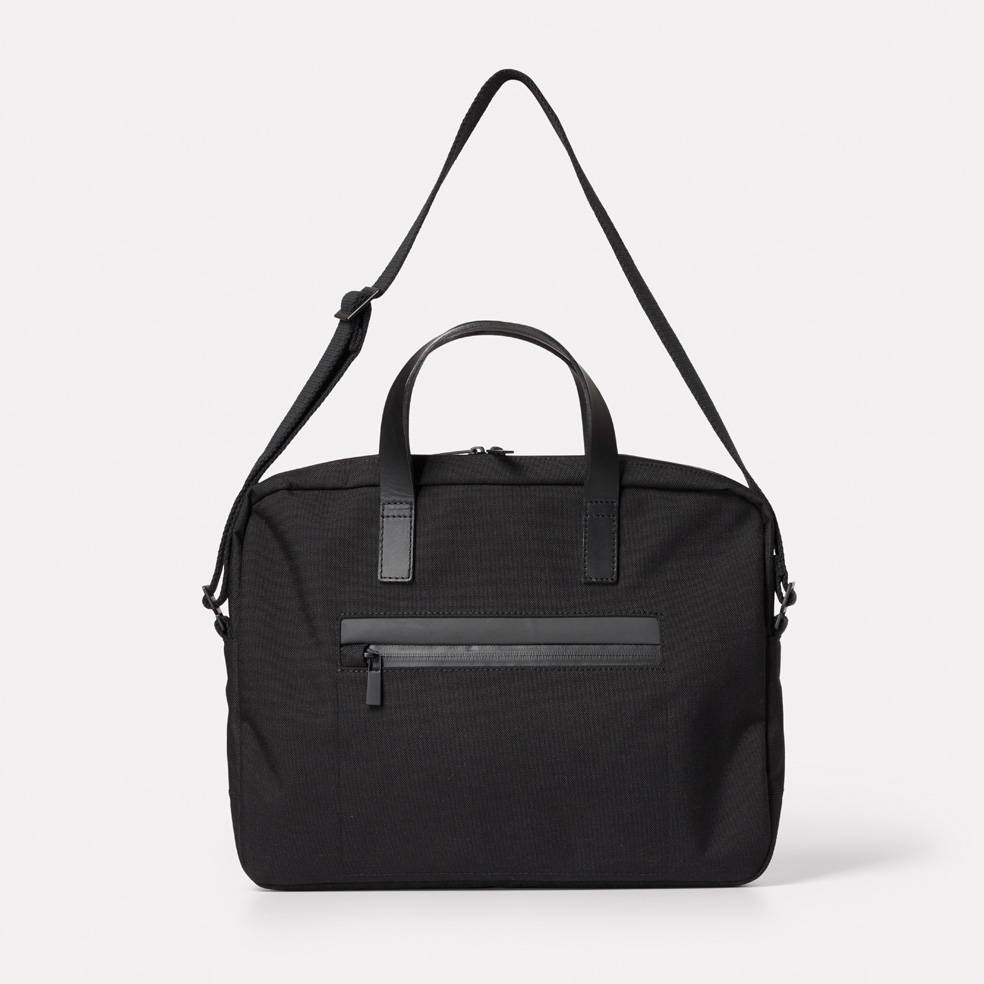 Mansell Travel/Cycle Briefcase in Black