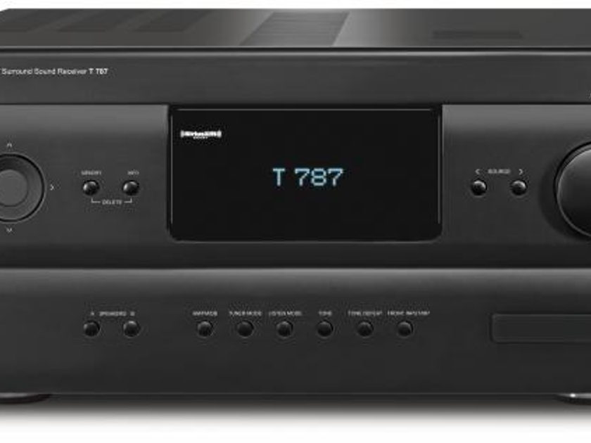 "NAD T787 / T 787 ""Best-Sounding"" AV Receiver with Warranty and Free 4K Video Module"