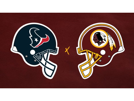 4 Tickets to Redskins vs. Texans & Parking Pass