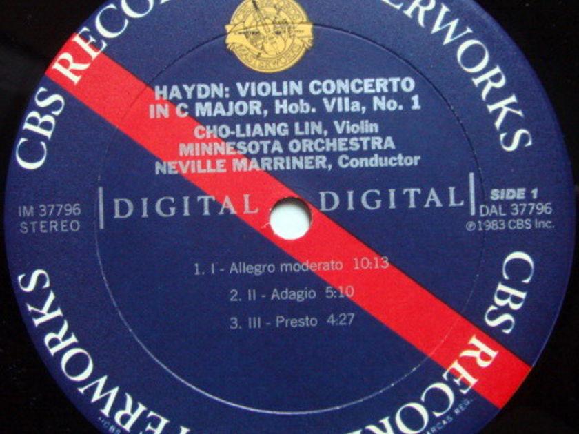 CBS Digital / CHO-LIANG LIN, - Haydn-Vieuxtemps Violin Concertos, NM, Promo Copy!