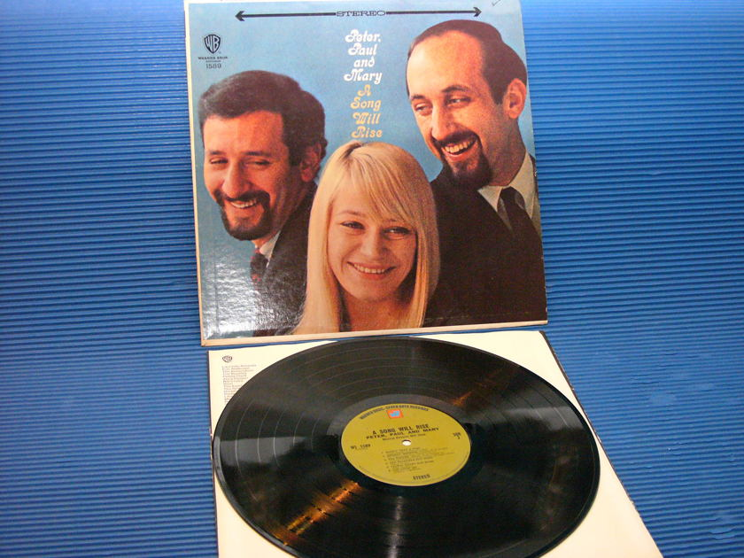 "PETER, PAUL & MARY  - ""A Song Will Rise"" -  Warner Bros.  1970"
