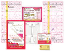 Perfect4Pattern Sets with Guidelines Rulers by Guidelines4Quilting