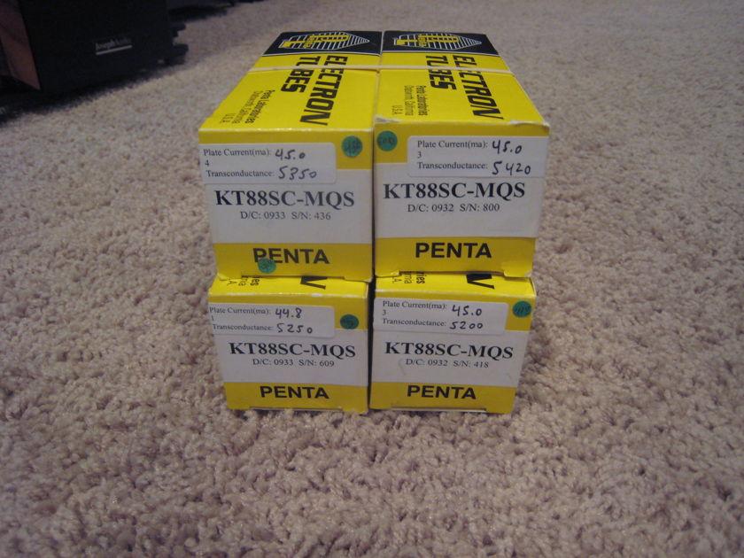 Penta KT88SC quad brand new