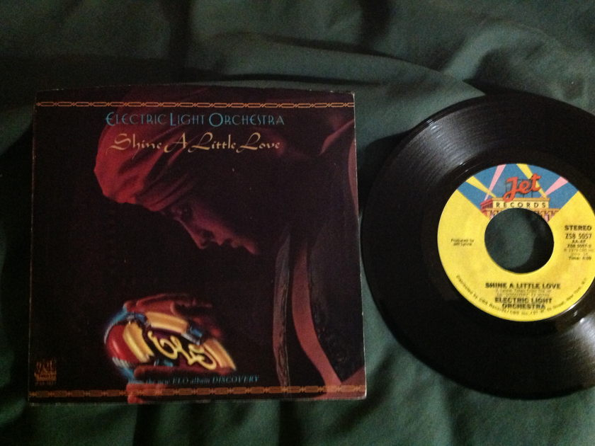 ELO - Shine A Little Love 45 With Sleeve