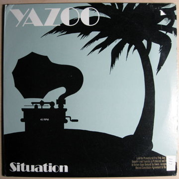 SItuation - 45 RPM 12 Inch Promo Copy
