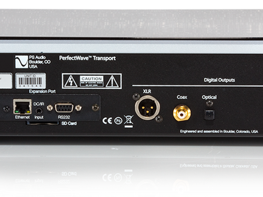 PS Audio Perfect Wave Memory Transport END OF YEAR CLEARANCE SALE!   FULL FACTORY WARRANTY!