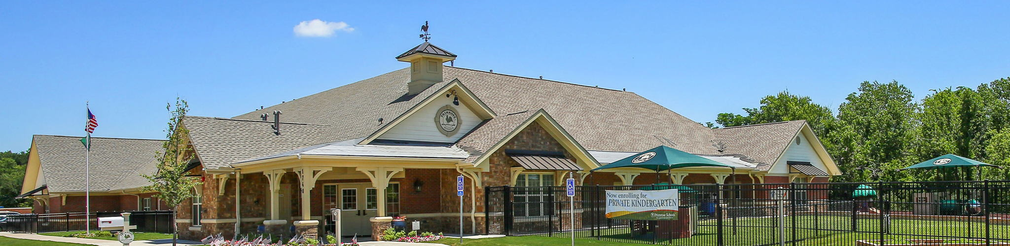 Exterior of a Primrose School of South Plano