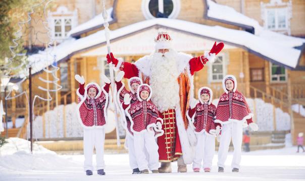 Путешествие к Деду Морозу в Великий Устюг