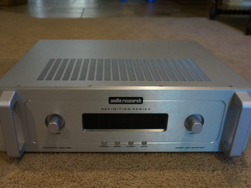 Audio Research DSI200 Silver, Integrated Amp